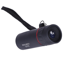 Focusing telescope portable waterproof monocular night vision black 30x25 HD 10X for travel hunting цена и фото