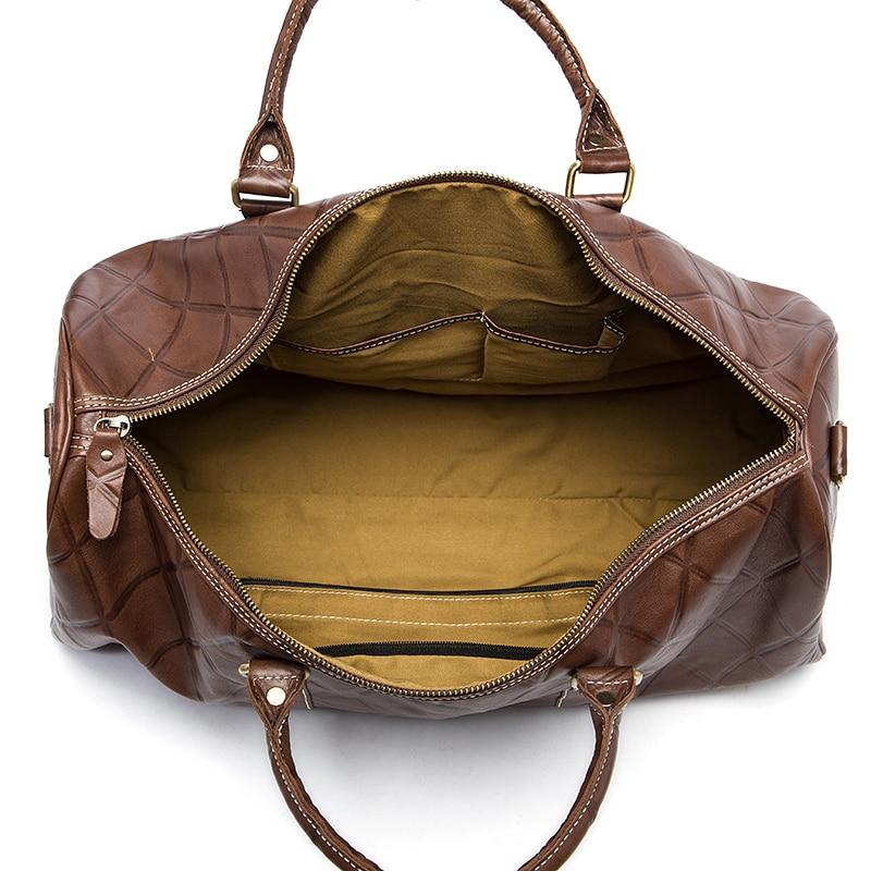 WESTAL Large Duffle Bag Ерекше Былғары Багаждар - Багаж және саяхат сөмкелері - фото 5