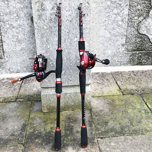 1.8-2.7m carbon ultralight hard short spinning fishing rod squid bait casting lure rod boat rock stick telescopic pole for carp