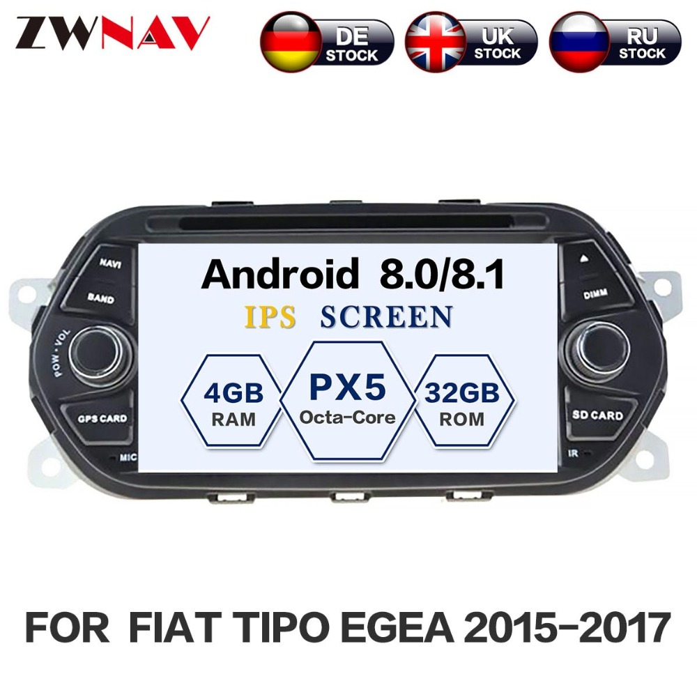 Android 8 1 Car DVD Player font b GPS b font navigation for FIAT TIPO EGEA