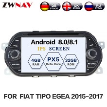 Android 8.1 Car DVD Player GPS navigation for FIAT TIPO EGEA 2015-2017 Satnav multimedia player head unit radio tape recorder