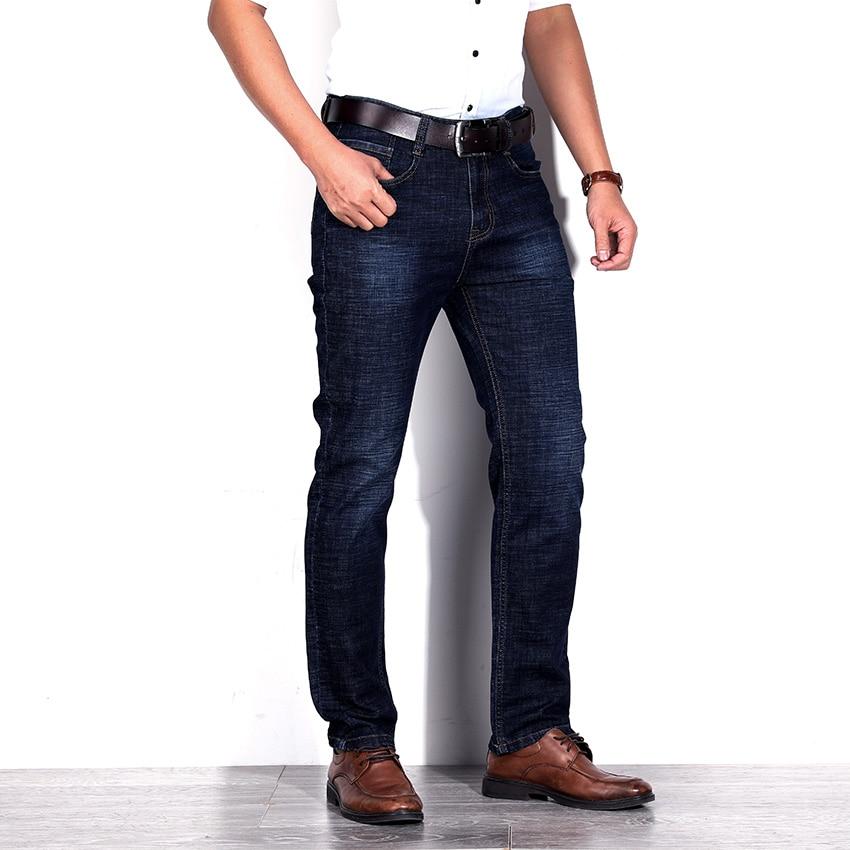 Free Shipping Men Stretch Jeans Trousers Pants Solid Color Jeans Men Brand Designer Jeans Slim Fit Denim Jeans D90