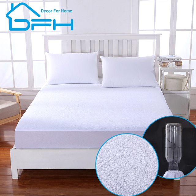 Matelas All Size Terry Waterproof Mattress Protector Cover For Bed Wetting And Bug Suit