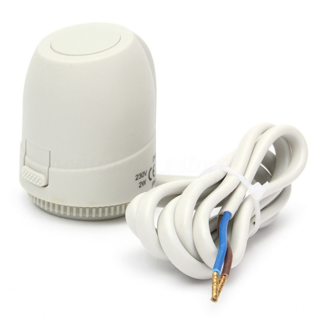 NC AC 230 V actuador térmico eléctrico calefacción Válvulas para calefacción por suelo radiante termostato termostática Válvulas