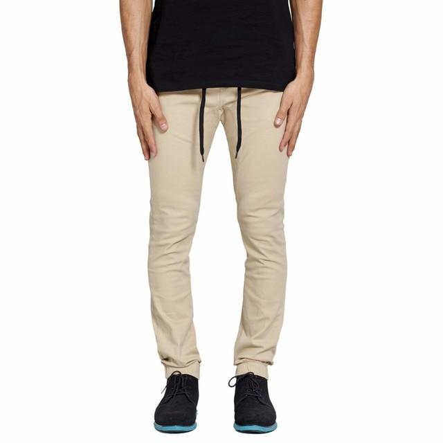 179aca8ba79e48 MrPick Men's Jogger Pants Drop Crotch Harem Drawstring Elastic Waist with  D-Ring Fashion Casual Men Stretch Pants