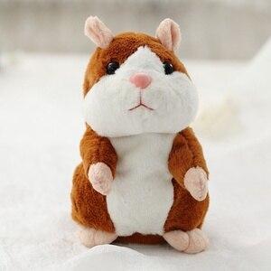 Repeated talking Hamster speak