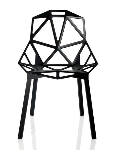 Geometric Design Chair Aluminum Chair Mesh Chair Chair Computer Chair  Office Chair Metal Chairs