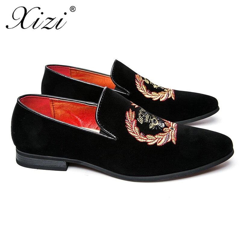 Vestir Moda De Traseros Y Terciopelo Superiores Hombre Casuales Xizi Formales 2018 Para Lujo Mocasines Cuero Informales Negro Zapatos x7p7BwqCa