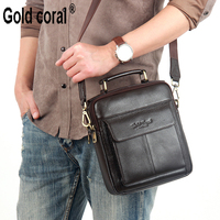 Hot Sale New Messenger Bags For Men High Quality Natural Genuine Leather Handbags Business Casual Shoulder
