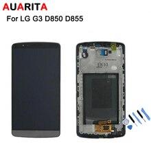 Para LG D850 G3 D855 Pantalla LCD con Pantalla Táctil Digitalizador Asamblea con marco + Herramientas de Envío Gratis