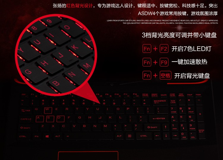 Gaming Notebook Game Laptop tablet computer PC 15.6inch 1920*1080 GTX Intel Core i7 6700HQ CPU 16GB RAM 128GB SSD Disk 1TB HDD