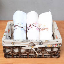 Baskets storage corn husk weave large capacity for kitchen sundries neatening straw basket snack cosmetic boxes