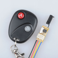 DC3V 3 7V 5V 6V 7V 9V 12V Mini Relay Wireless Switch Remote Control Power LED