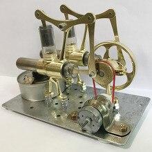ألعاب تجريبية صغيرة لتوليد الطاقة لإنتاج الطاقة الصغيرة تعمل بتكنولوجيا البخار مصغرة بمحرك ستيرين