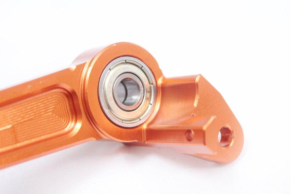 Новый ЧПУ Алюминиевый сцепные Шестерни педаль Рычаг для KTM 125/200/390 Duke 2013-2016 13 14 15 16