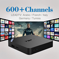 2/8 GB Android 6.0 Caixa Smart TV 4 K Quad Core HD Wi-fi Set-top caixa com Livre 1/3/12 Meses a Europa Caixa DE IPTV Canais de IPTV Árabe