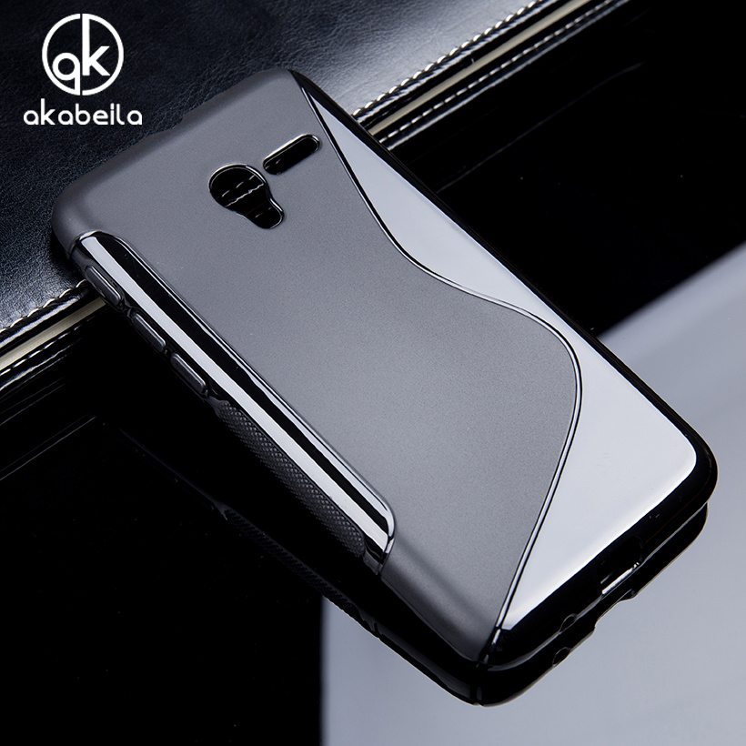 TaryTan Silicone Phone Cover For Alcatel One Touch Onetouch Pop 3 POP3 5 5015 5016A 5016J 5015E Dual Sim Case S Shape Covers