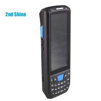 휴대용 안드로이드 os 1d 2d 바코드 스캐너 rfid 리더 13.56 mhz iso1443a/15693 견고한 pda