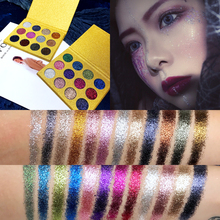 12 Colors Cosmetic Makeup Pressed Glitter Eyeshadow Pallete Brand New Diamond Foiled Eye Shadow Make up Palette