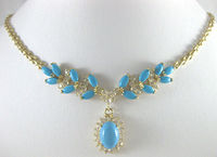 women Fashion Jewelry noblest gem stone necklace pendant