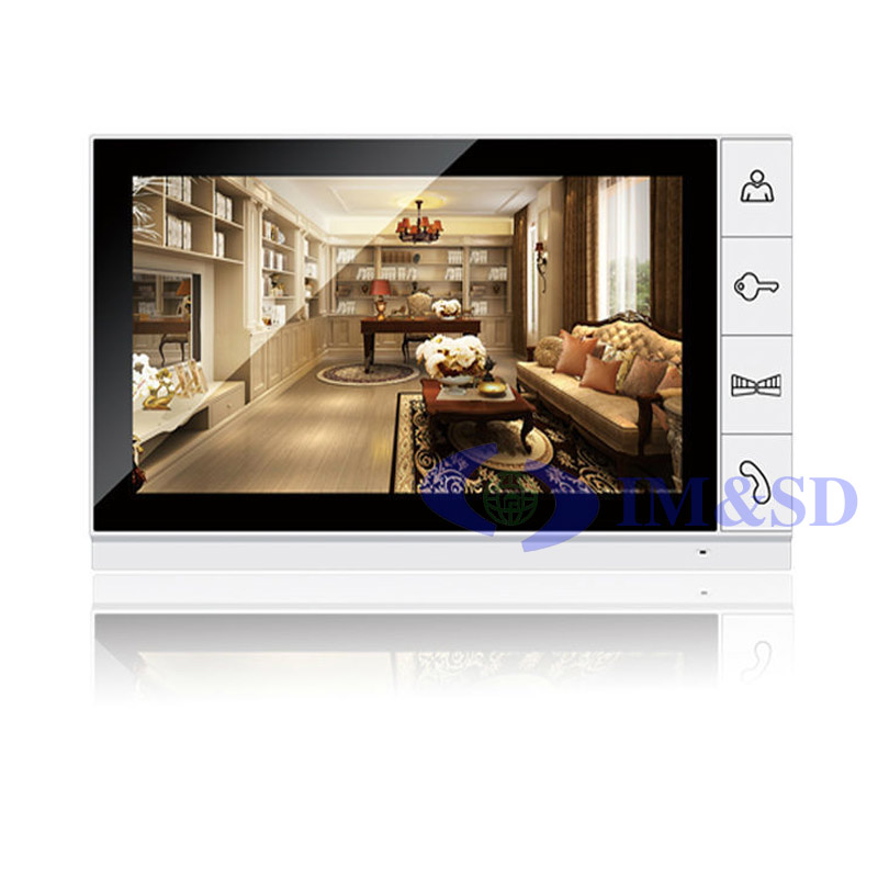 9 inch Color TFT Digital Display 800x480 LCD Widescreen Monitor For Video Doorphone Doorbell Intercom System