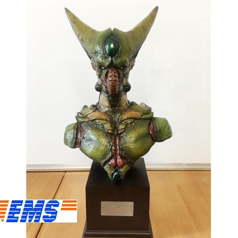 Buste Anime Dragon Ball Statue cellule première forme demi-longueur Photo ou Portrait résine figurine à collectionner modèle jouet boîte Q572