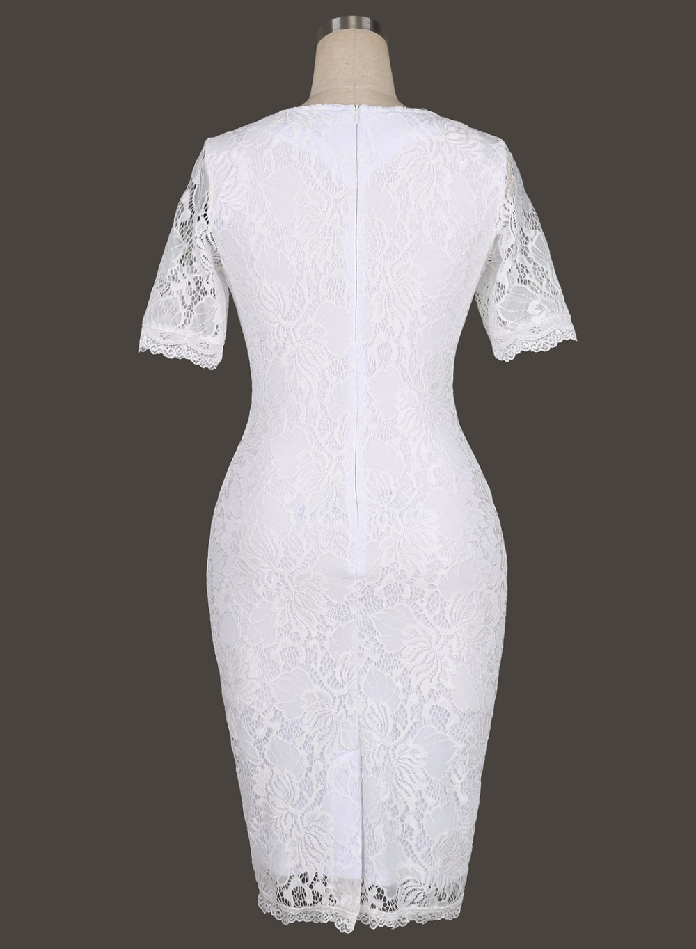 Womens Elegant Delicate Floral Lace Casual Party Evening Bodycon Special Occasion Bridemaid Mother of Bride Dress