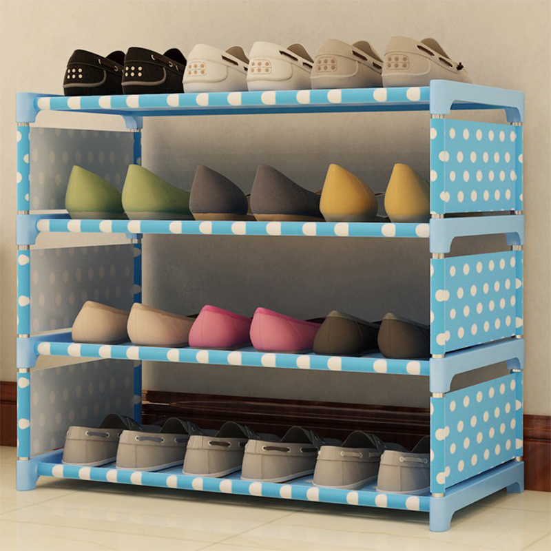 1Set Storage Shoe Cabinet Easy to install Multi Layer Shoes Racks DIY Shoe Shelf Non-woven Fabric Racks Nonwovens Shelf Storage