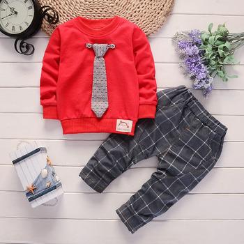 BibiCola jesienne zestawy ubrań dla chłopców dzieci dresy dla dzieci Sport garnitur bluzy w stylu Casual + spodnie 2 sztuk Toodler chłopców ubrania zestawy tanie i dobre opinie Na co dzień O-neck Swetry RUSRT Poliester COTTON Chłopcy Pełna REGULAR Pasuje prawda na wymiar weź swój normalny rozmiar