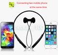 Fineblue fm 500 deportes estéreo bluetooth wireless headset auriculares auriculares para lg iphone 6 samsung + paquete al por menor dhl libre