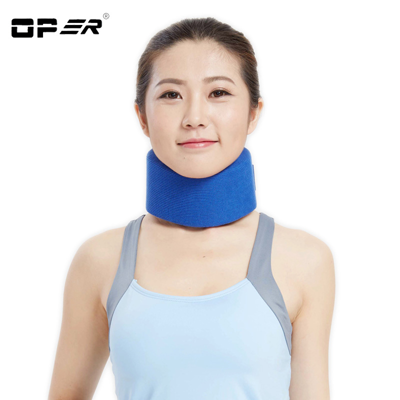 OPER Adjustable Neck Brace Support Sponge Cervical Collar Stiff Neck Pain Relief protect neck Health care