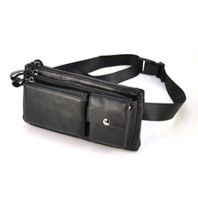 Genuine Leather Waist Bag Fashion Men Belt Bags Men's Small Purse Male Pack Women Casual Cross Body Shoulder Bag Vintage
