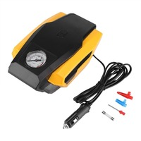 1 Set 12V Tire Inflator Pump Digital Electric Emergency Air Compressor Pump For Car Portable 150