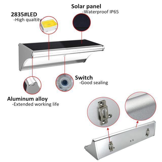 LED Solar Light Radar Motion Sensor  1