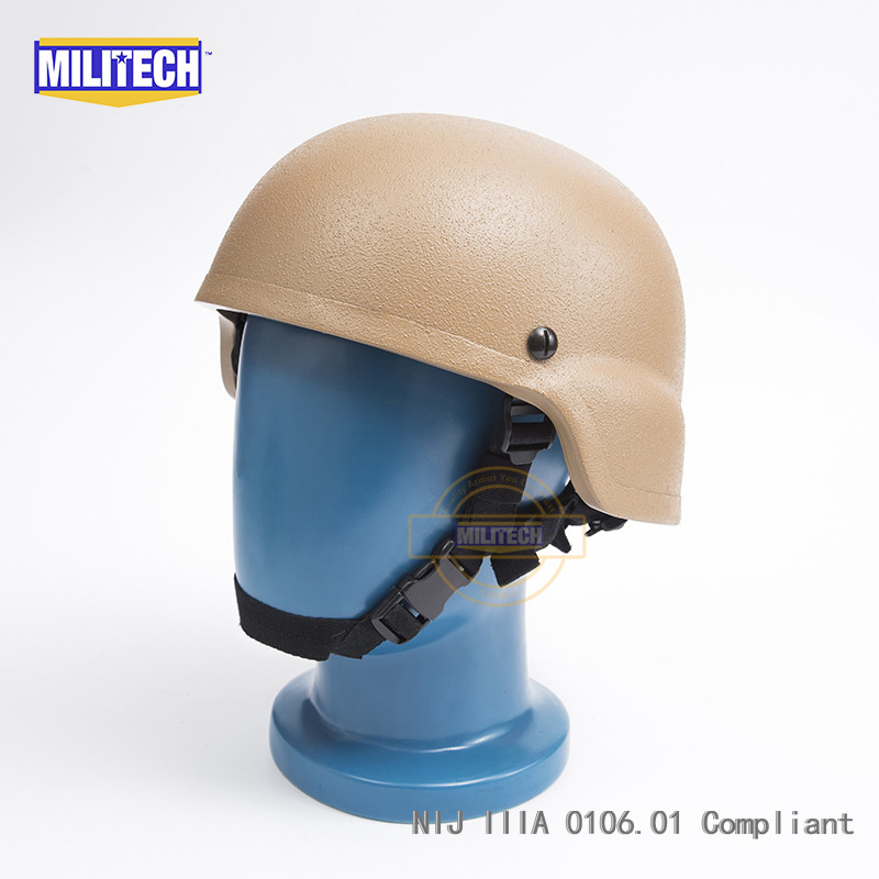 Back To Search Resultssecurity & Protection Militech Cb Nij Iiia 3a Mich Bullet Proof Helmet Aramid Ach Ballistic Helmet Bulletproof Mich 3a 2000 Helmet With Test Report