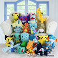 20Pieces/Lot Mixed Pokemon Go Plush Toys,Kids Christmas Pokenmon Gift Toys,Pikachu & Bulbasaur & Squirtle & Charmander  Toys