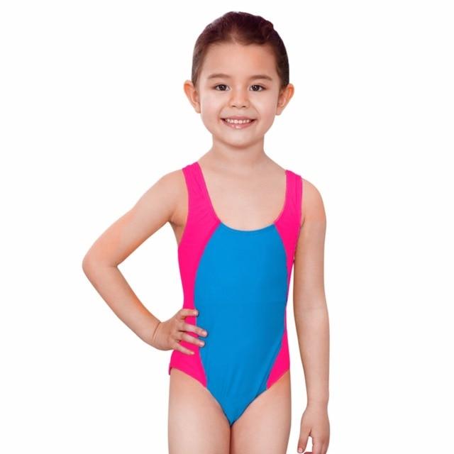 fcc96ad4a415 3-14 Bambini di Età Sottile Estate Nuoto Costume Da Bagno One Pieces Costumi  Da