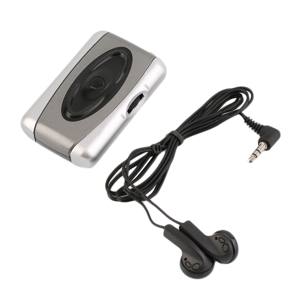 Personal TV Sound Amplifier Hearing Aid Assistance Device Listen Megaphone high quality Drop Shipping