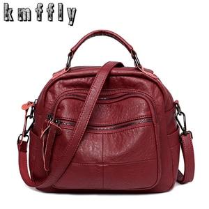 Image 1 - 2019 Luxury Handbags Women Bags Designer Soft Leather Bag High Quality Shoulder Crossbody Bag Women Casual Tote Bags Sac a Main