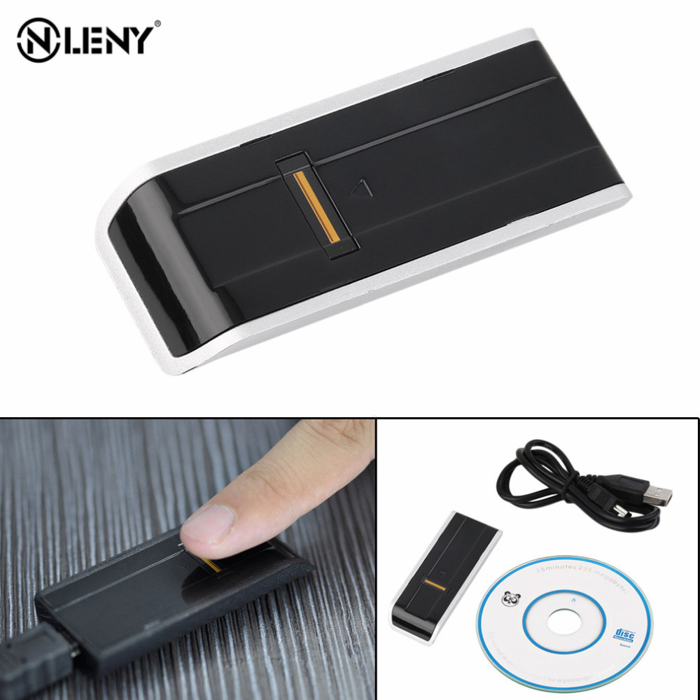 ONLENY Biometric USB Fingerprint Reader Security Password Lock For Laptop PC Computer Support English,Russian etc. HOT in stock!