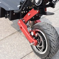 U7 FRONT 2 LIGHT 3200W 11 inch Folding Electric Scooter Bicycle Off Road Cross Country FAT TIRE HIGH SPEED SKATEBOARD