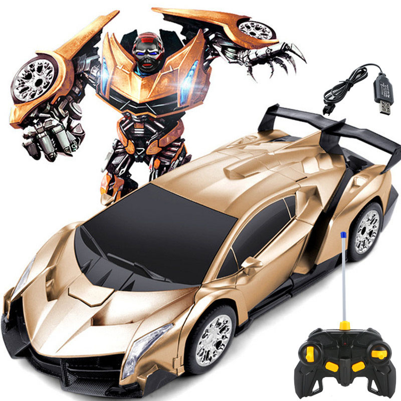 Rc Cars For Sale >> Us 28 13 Hot Sale Rc Car Toy Transformation Robots 4 8v 4ch Remote Control Cars Luxurious Racing Robots Kids Toys Birthday Gifts Pgm075 In Rc Cars
