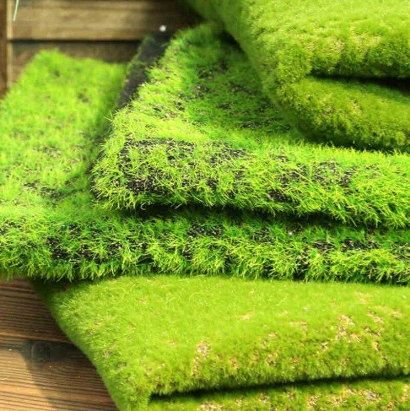 Simulation pelouse fausse mousse décoration intérieure bricolage fée jardin artificiel fausse mousse décoration intérieur paysage Mao pelouse