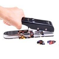 Pick Cutter Signstek Professional Portable Pick Punch Guitar Pick Plectrum Maker Flanger FP-01