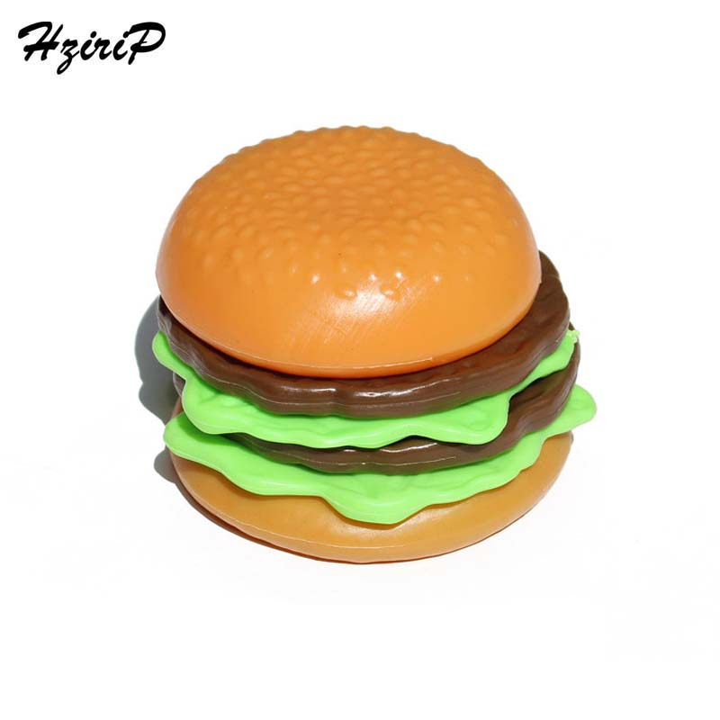 HziriP 5Pcs/lot New Kitchen Pretend Play Sets Kids Safety Plastic Simulation Food Hamburger Childrens Educational Toys Gifts