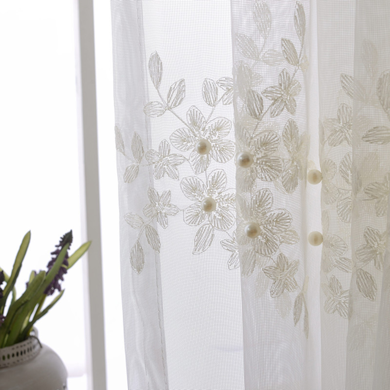 Embroidered Sheer Curtains Promotion Shop For Promotional Embroidered Sheer Curtains On