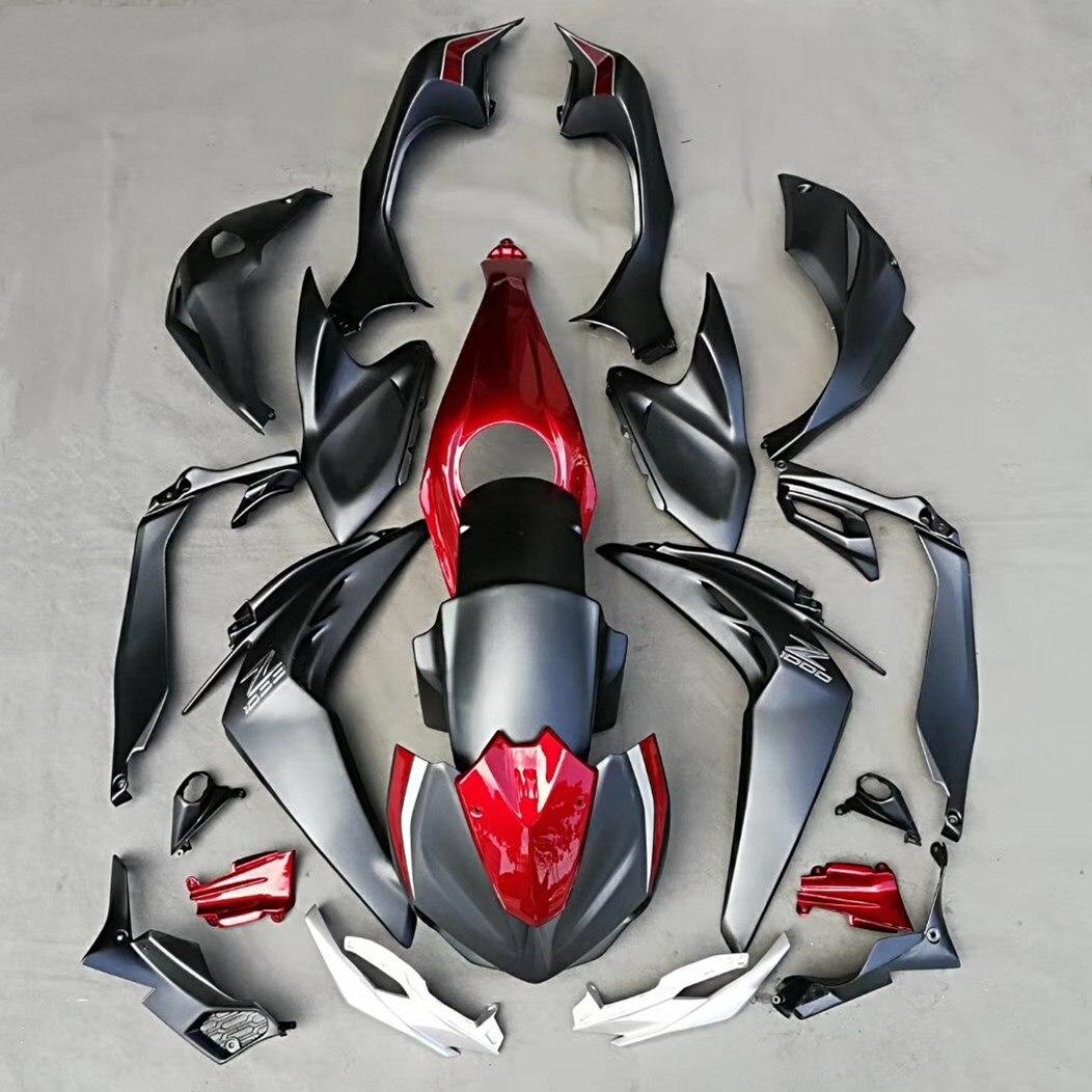 Motorcycle Injection Molding Fairing Kit Bodywork For Kawasaki Z1000 Z 1000 2014 - 2017 2016 2015 Fairings Cowl Set Black Red rimmel тональный крем stay matte 100 30 мл