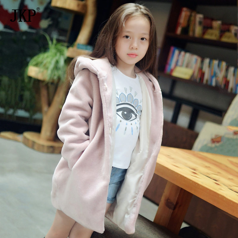 Aliexpress.com : Buy 2017 New Kids fur coat jacket Fashion child ...
