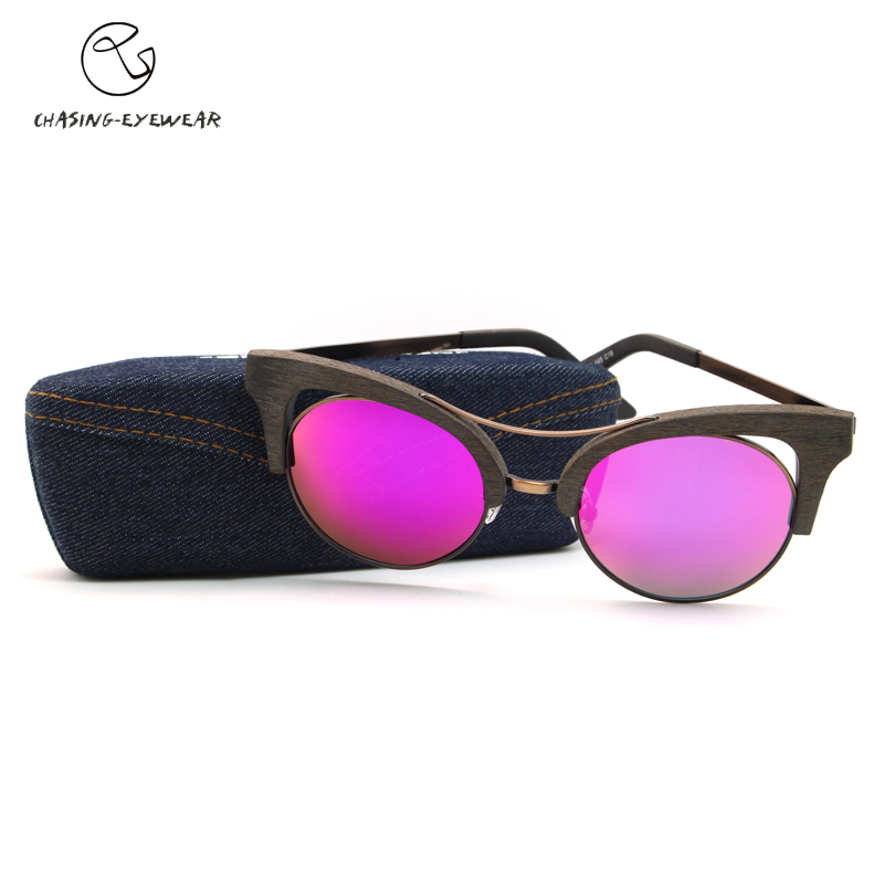 f53572fa368df Chasing brand 2016 Women s Cat Eye Polarized Acetate Sunglasses UV  Protection Polarized eye glasses Goggles UV400 CS110363sun-in Sunglasses  from Apparel ...
