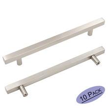 kitchen cabinet knobs brushed nickel stainless steel cabinet hardware ls1212bss bathroom cabinet drawer pulls door handle 10pack